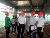 广西建设工程造价管理总站深入装配式工地开展调研